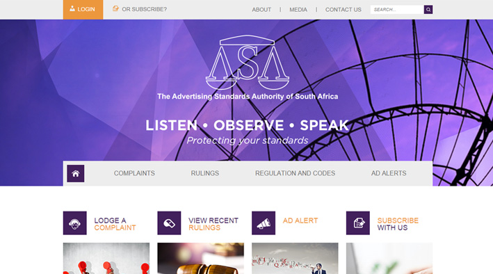 ASASA - Advertising Standards Authority of South Africa