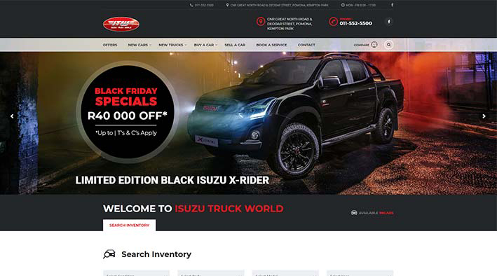 Isuzu Truck World
